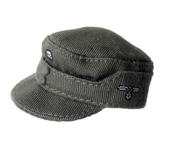 Field cap with skull (cloth) - Click Image to Close