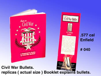 Civil War bullet .577 Cal ( Enfield ) - Click Image to Close