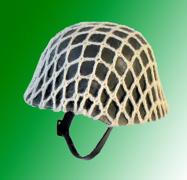 Helmet with netting - Click Image to Close