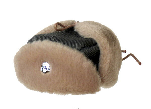 WW2 SS Fur lined hat - Click Image to Close
