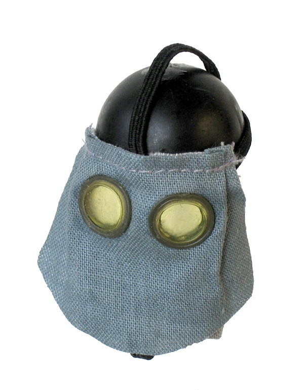WW1 early gas mask - Click Image to Close
