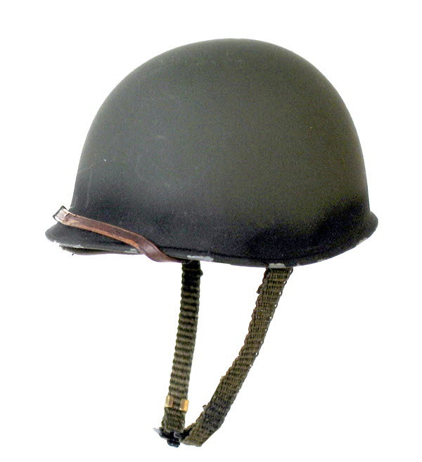 M-1 smooth surface helmet - Click Image to Close