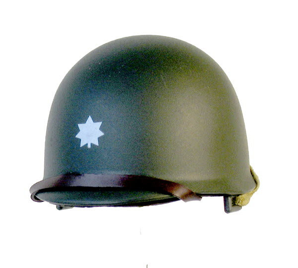 Lt. Col helmet M1 - Click Image to Close