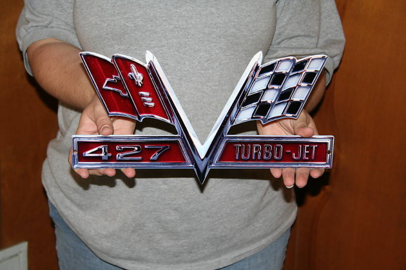 1967 427 Camaro Turbo jet metal sign - Click Image to Close