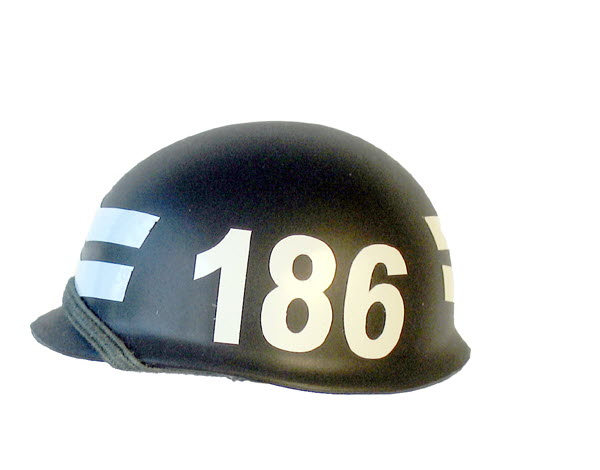 Navy SEALS Training helmet class of 186 - Click Image to Close