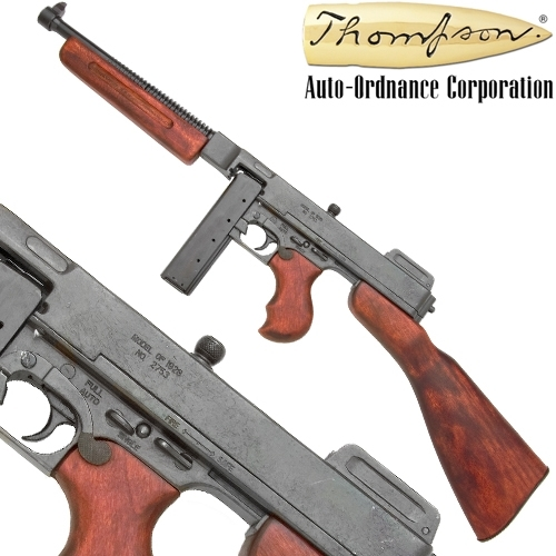 M1928 U.S. Military Thompson SMG ( Clip fed) - Click Image to Close