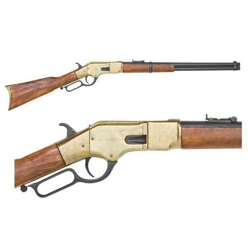 M1866 lever action brass finish - Click Image to Close