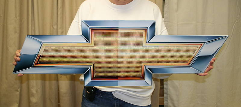 Chevrolet bowtie emblem 2010 - Click Image to Close