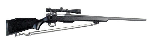 ( Remington ) M-700 bolt action sniper rifle with scope - Click Image to Close