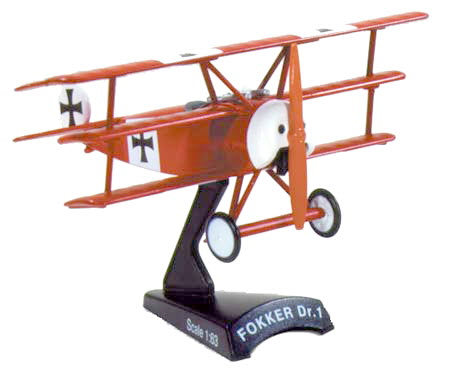 "Fokker Dr-1 "" Red Baron "" (1/63) - Click Image to Close"