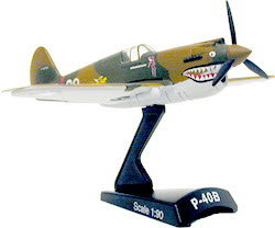 "Curtiss P-40 "" Hells Angel"" (1/90)"