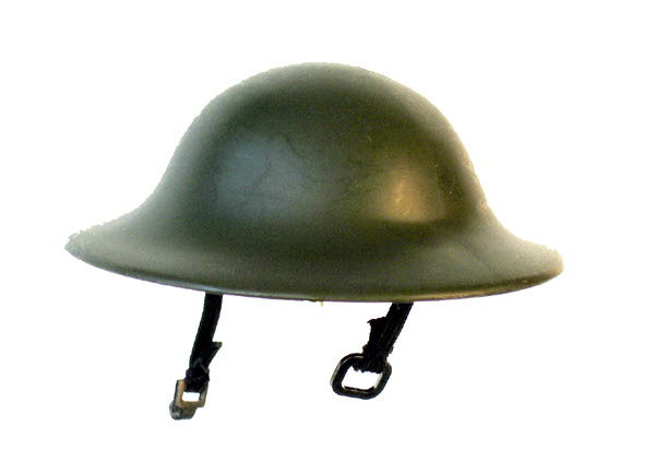 WW1 GI helmet - Click Image to Close