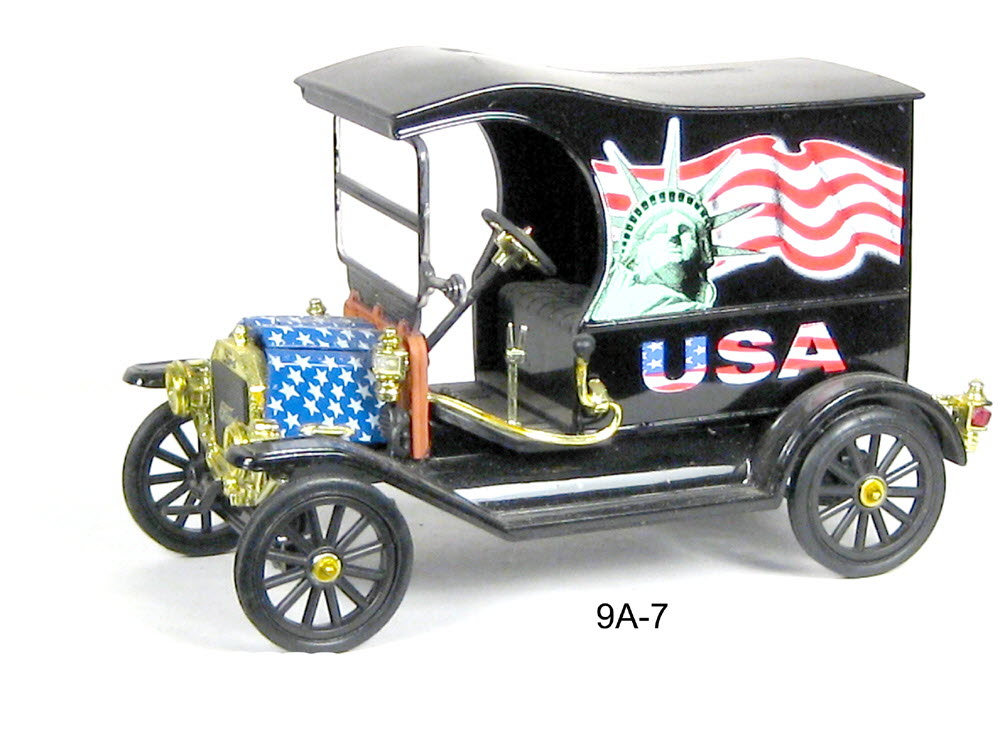 Ford (special patriotic edition) paddy wagon - Click Image to Close