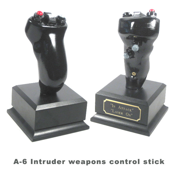 A-6 Intruder weapons control stick - Click Image to Close