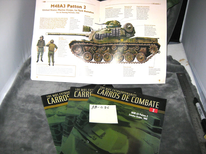Patton tank booklet - Click Image to Close