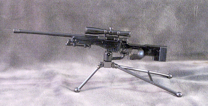 AWP Sniper Rifle with tri-pod All Metal - Click Image to Close