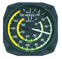 Airspeed Indicator ---THERMOMETER