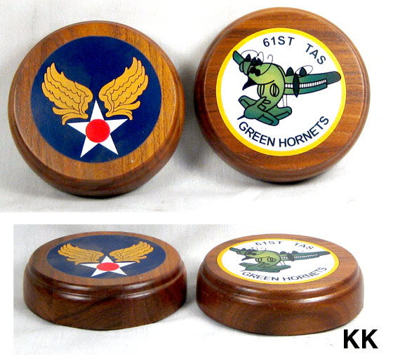 2 U.S. Air Force paper weights - Click Image to Close
