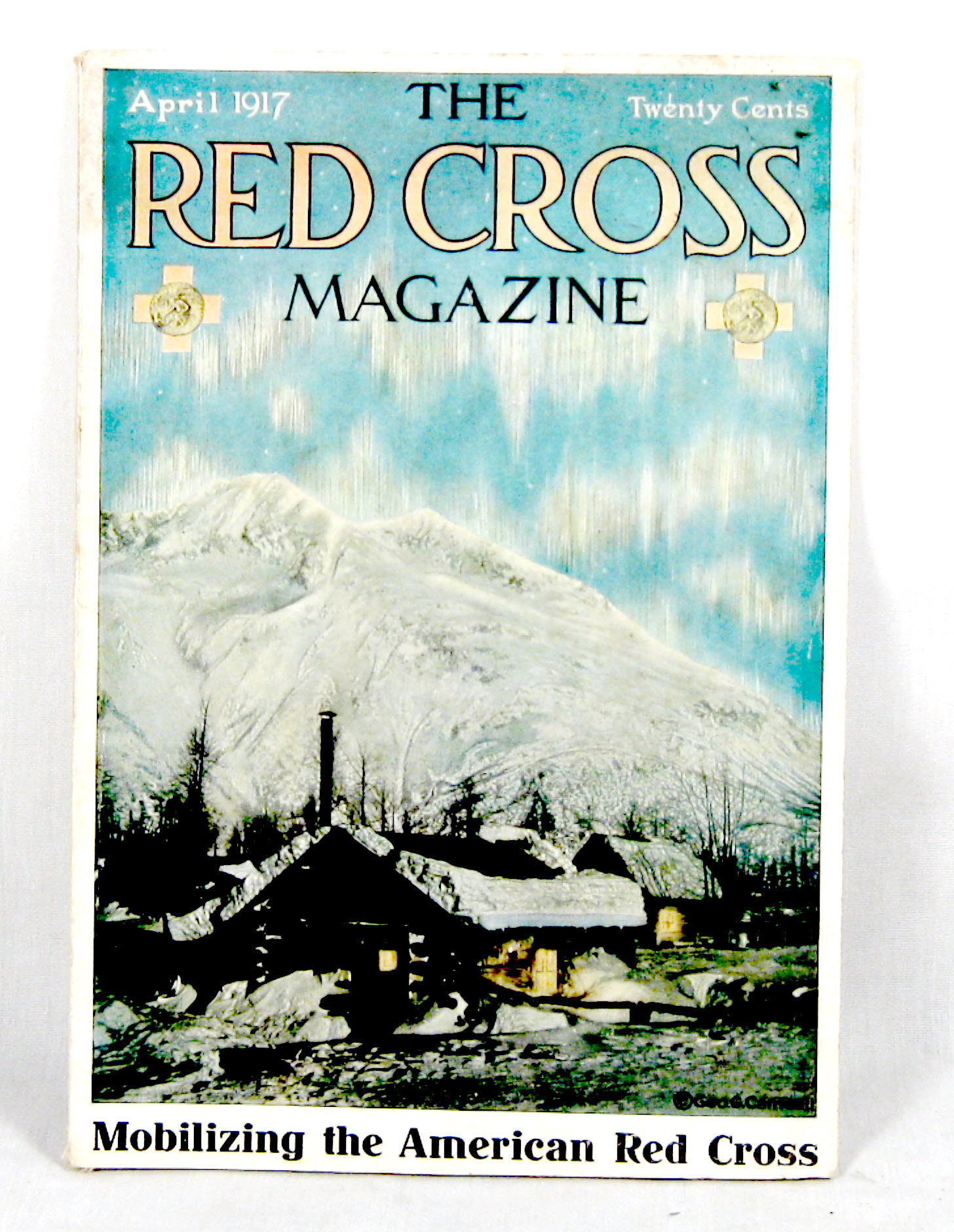 WW1 vintage Red Cross mag April 1917 - Click Image to Close