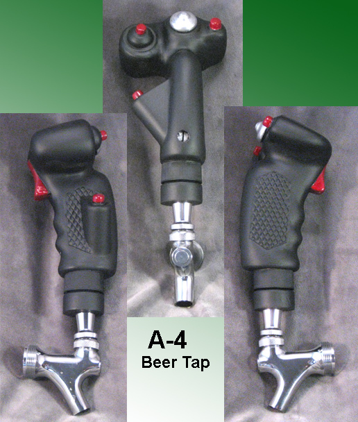 A-4 stick grip as Beer Tap - Click Image to Close