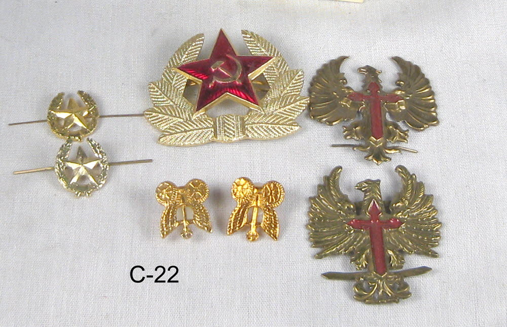 Russian pins assortment - Click Image to Close