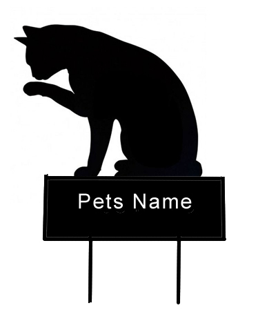 Cat grave marker - Click Image to Close