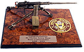 50 cal machine gun on board / US Army patch - Click Image to Close