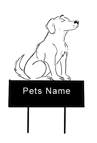 Dog Grave Yard Marker