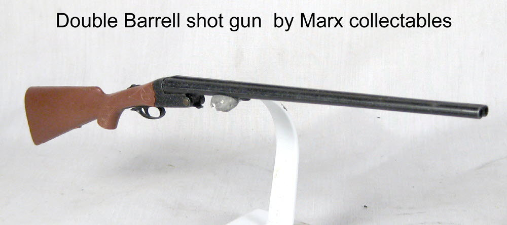 Double Barrell shot gun Mark collectables - Click Image to Close
