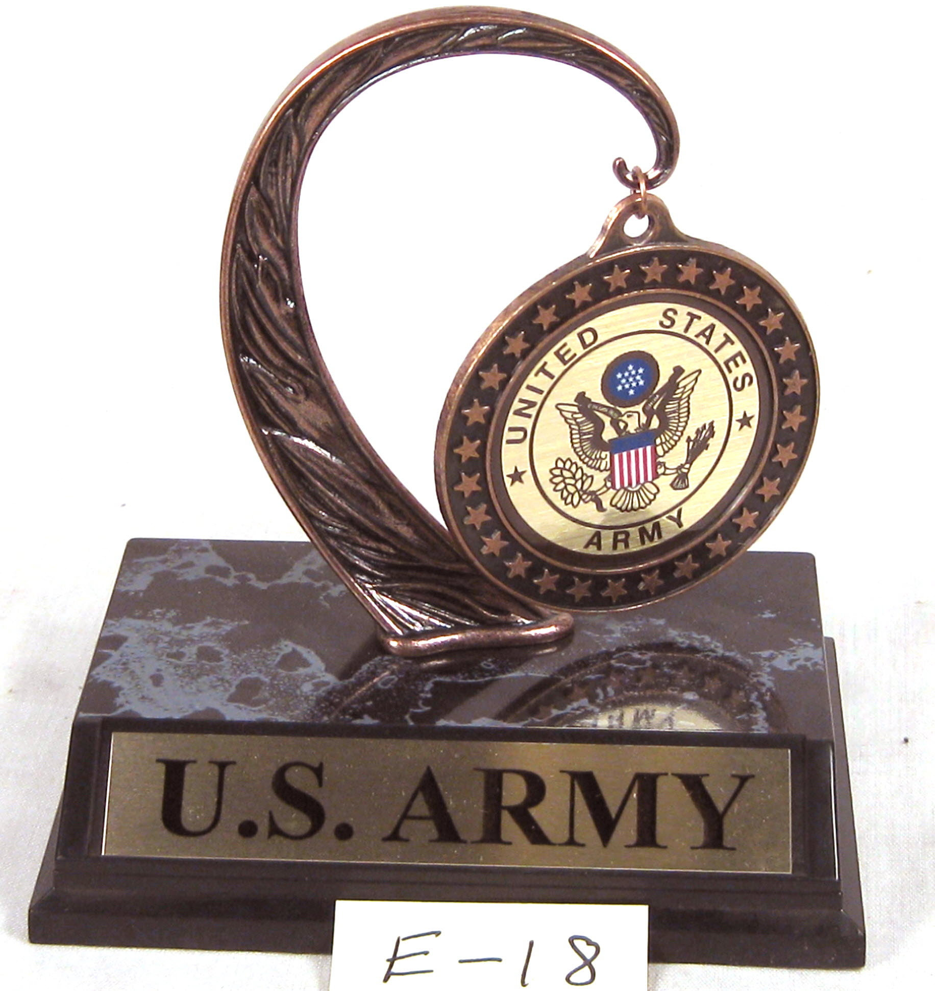 U.S.Army plaque - Click Image to Close