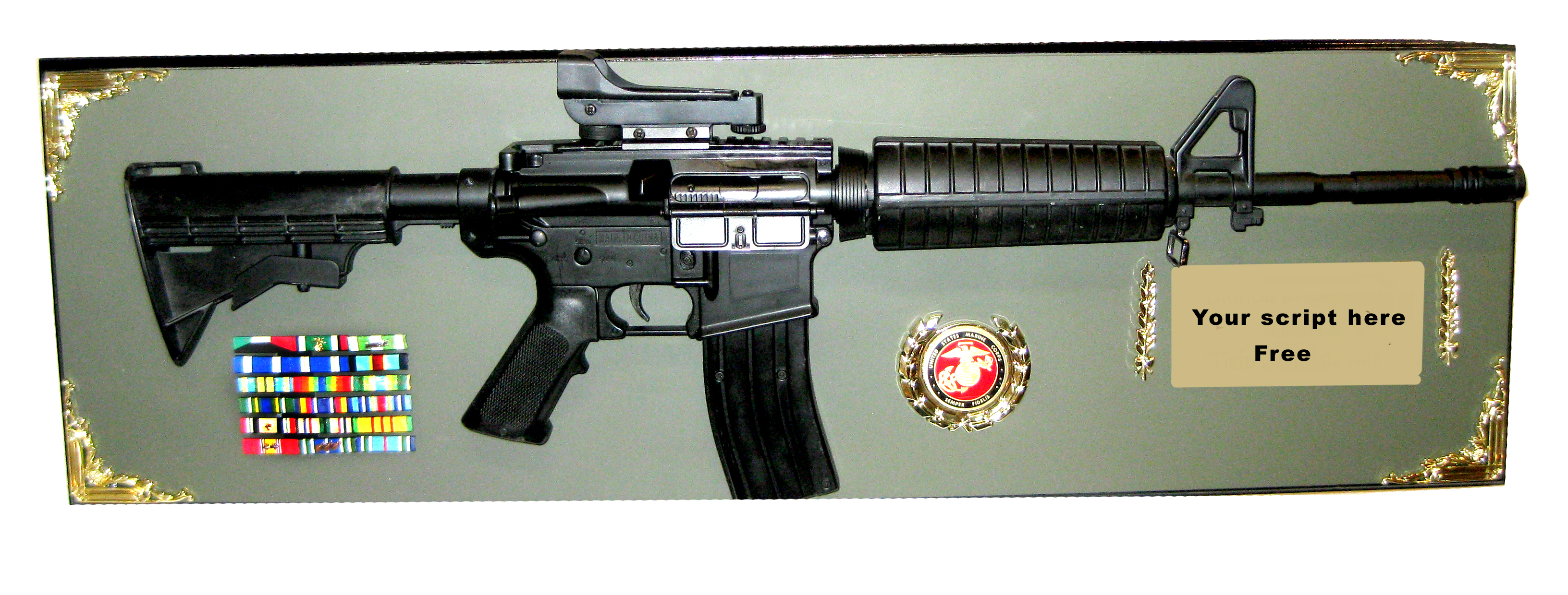M4 rifle award full size - Click Image to Close