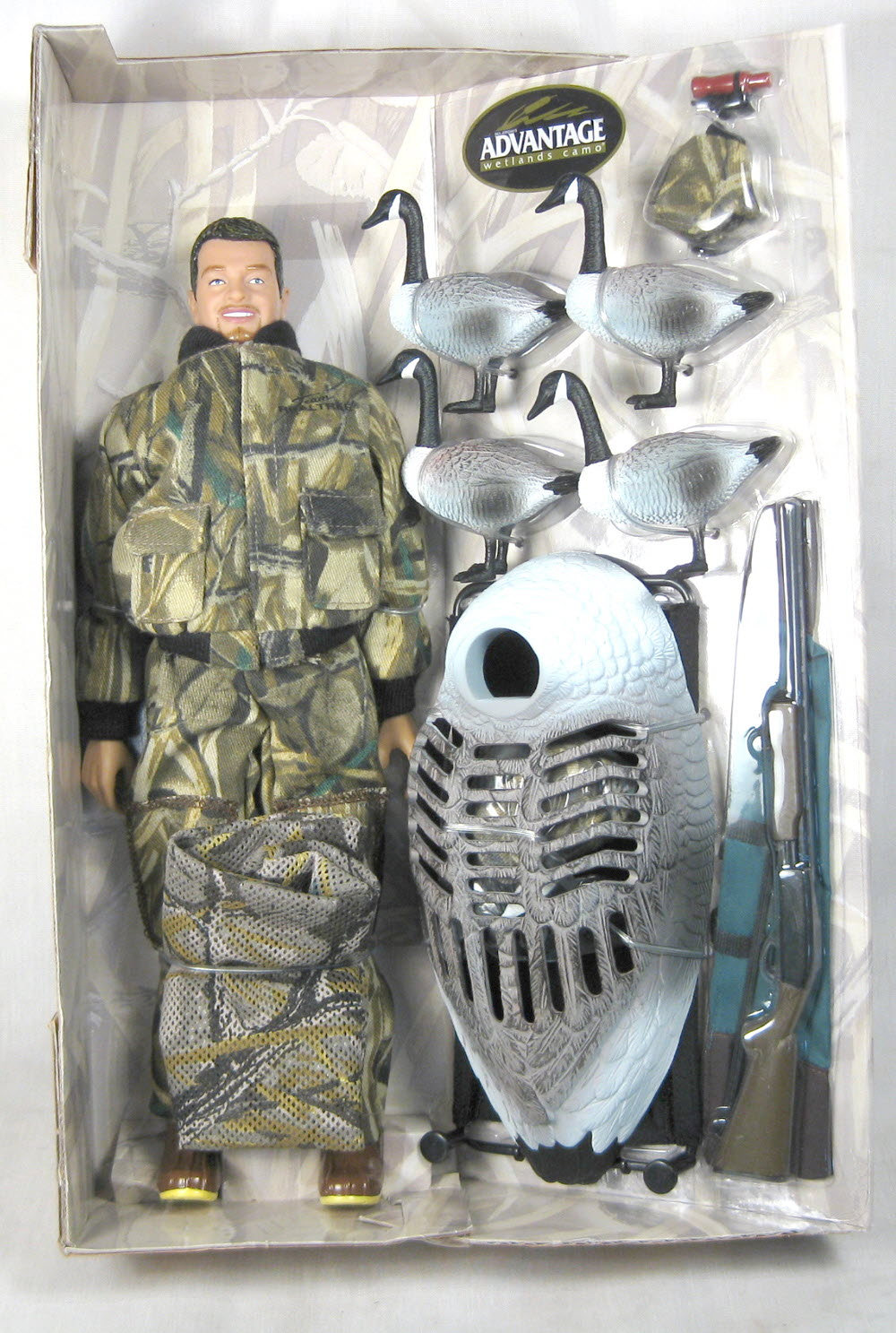 Duck Hunter doll and gear - Click Image to Close