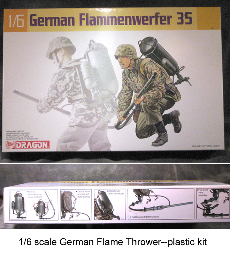 German Flame Thrower--kit - Click Image to Close