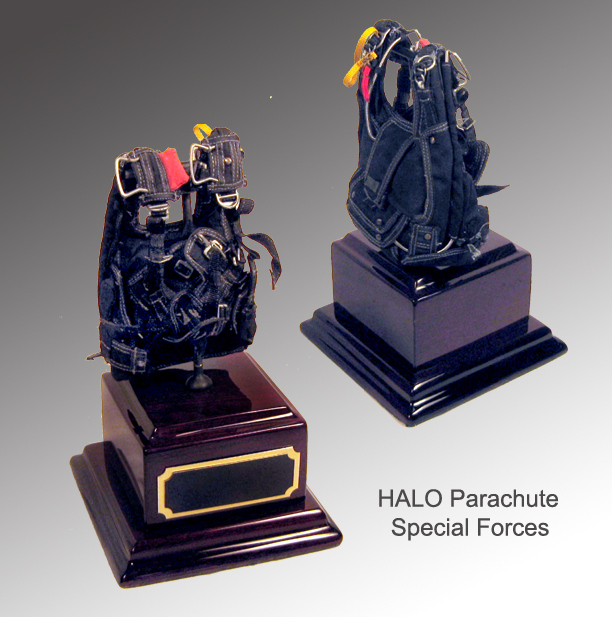 HALO Special Forces on Rosewood base - Click Image to Close
