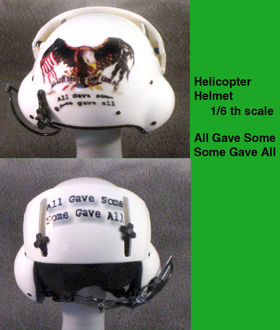 Helicopter helmet ( All Gave Some) - Click Image to Close