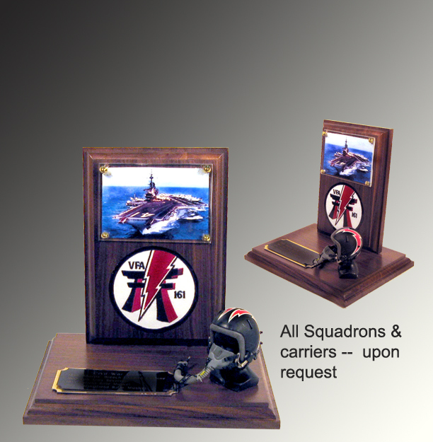 Pilot Award and squadron -- plaque number 2 - Click Image to Close