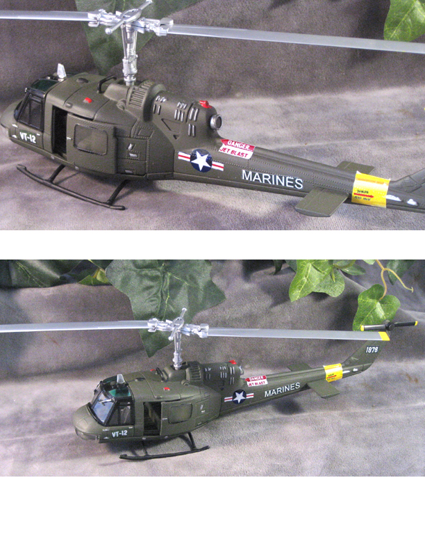U.S.M.C Helicopter of Viet Namm era - Click Image to Close