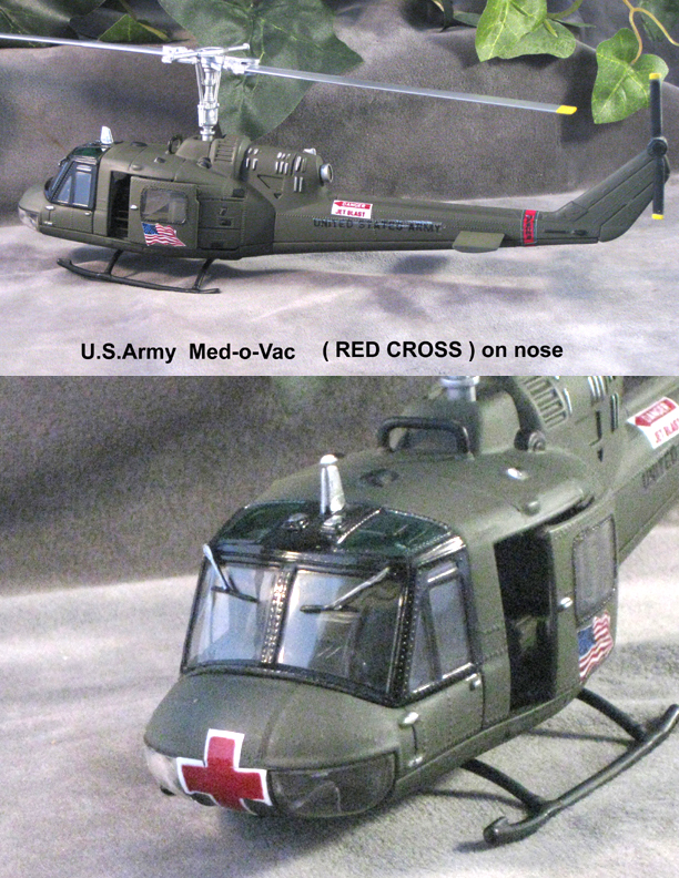 Med-o-vac helicopter U.S.Army - Click Image to Close