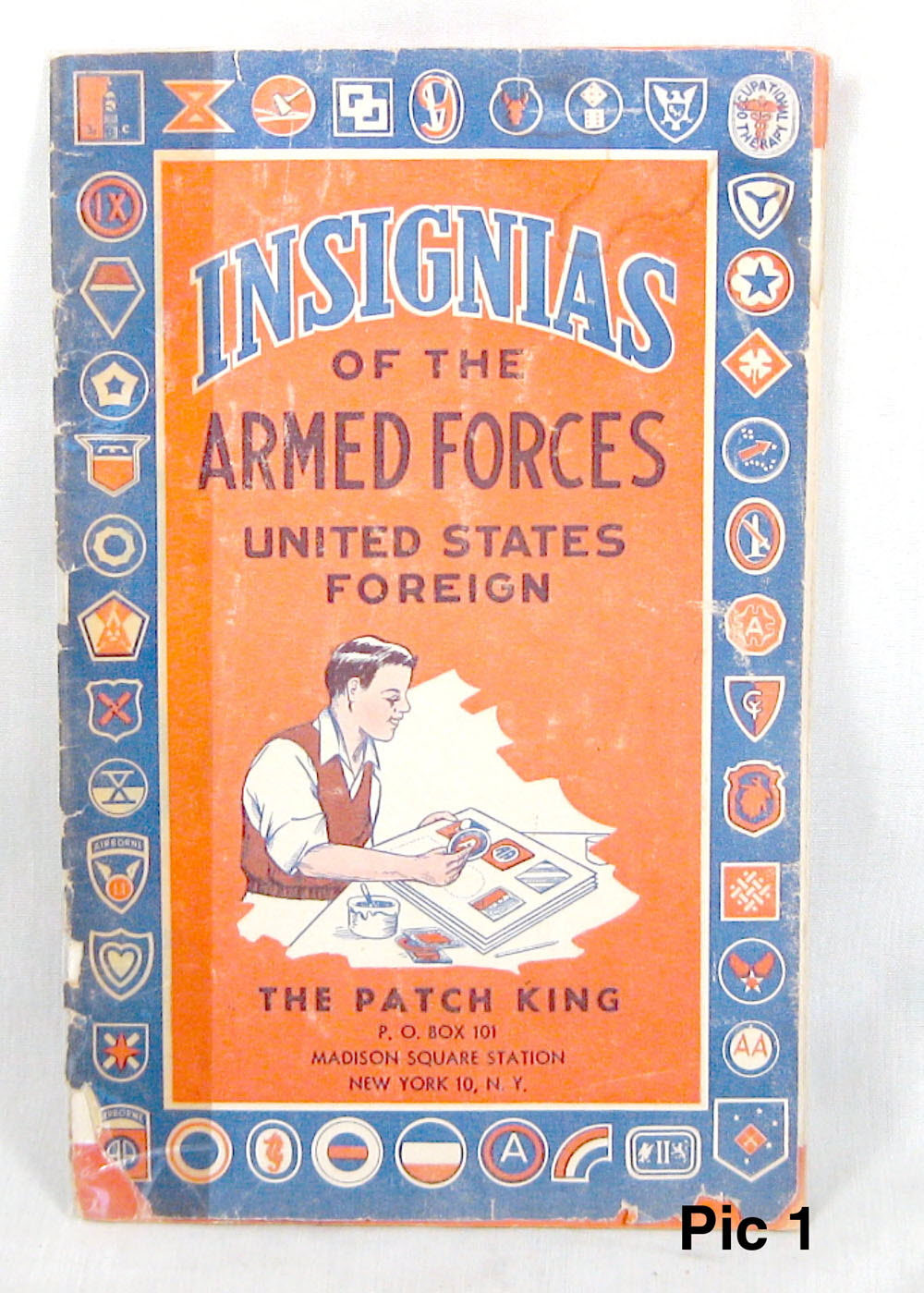 Insignia book of the Armed forces ww1 - Click Image to Close