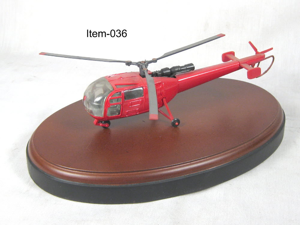 French Helicopter 2 RED - Click Image to Close