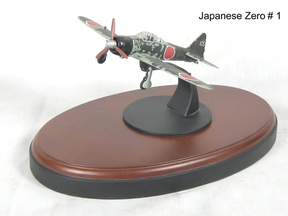 Japanese Zero airplane # 1 - Click Image to Close