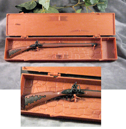 Kentucky Long Rifle style B by Marx - Click Image to Close