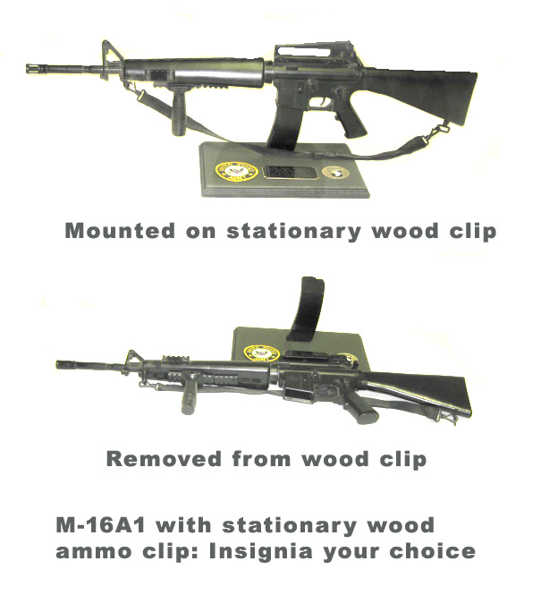 M-16A1 on base - Click Image to Close