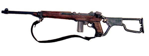 U.S. M1 Carbine with folding stock - Click Image to Close