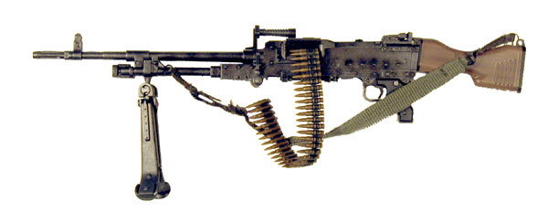 U.S. M-240 Machine Gun - Click Image to Close