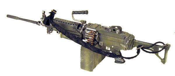 U.S. M-249 With foldable stock - Click Image to Close