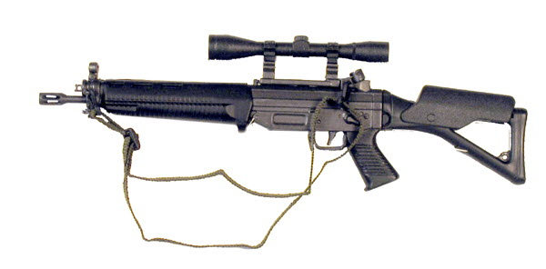 SIG 551 W/scope and foldable stock ( short barrel ) - Click Image to Close