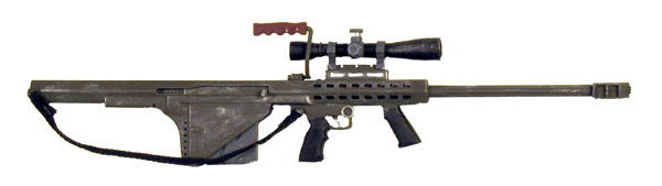 U.S. M82A2 Bullpup sniper rifle - Click Image to Close