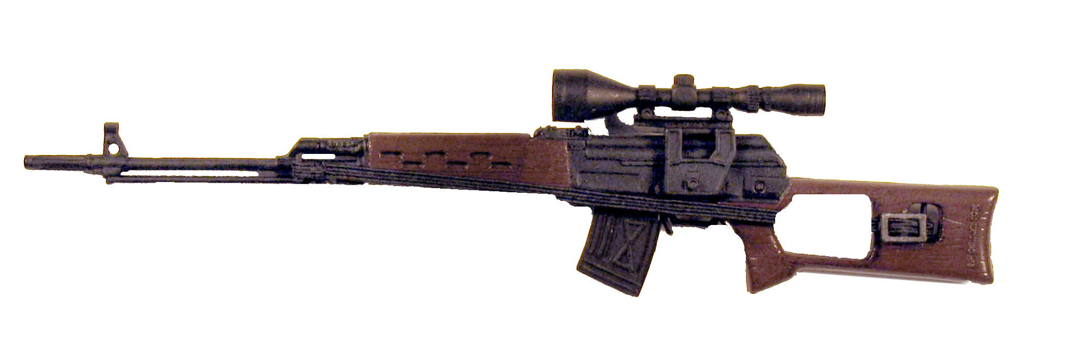 Russian Dragunov Sniper (short barrel) - Click Image to Close