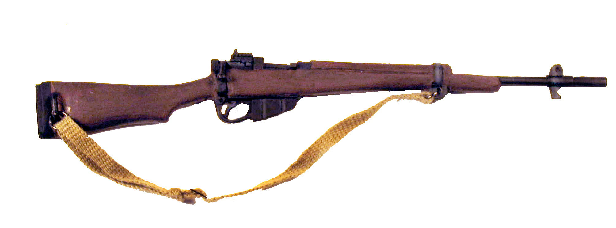 British Enfield Jungle Rifle - Click Image to Close